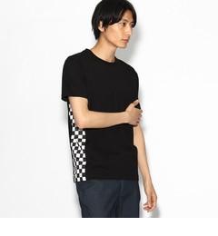 【ティーケータケオキクチ/tk.TAKEOKIKUCHI】サイドチェッカーTシャツ[送料無料]