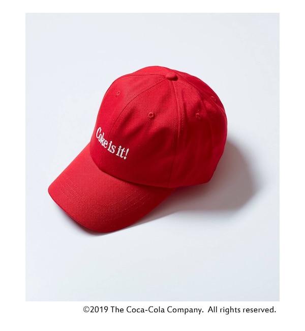 【ティーケー タケオキクチ/tk.TAKEO KIKUCHI】 ◆【WEB限定】tk.TAKEO KIKUCHI COCA-COLA COLLECTION ロゴキャップ