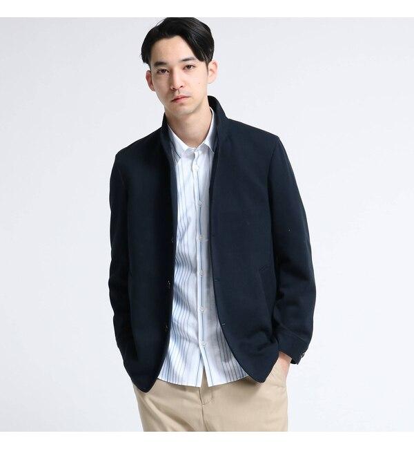 【ティーケー タケオキクチ/tk.TAKEO KIKUCHI】 ジャージ地比翼ジャケット