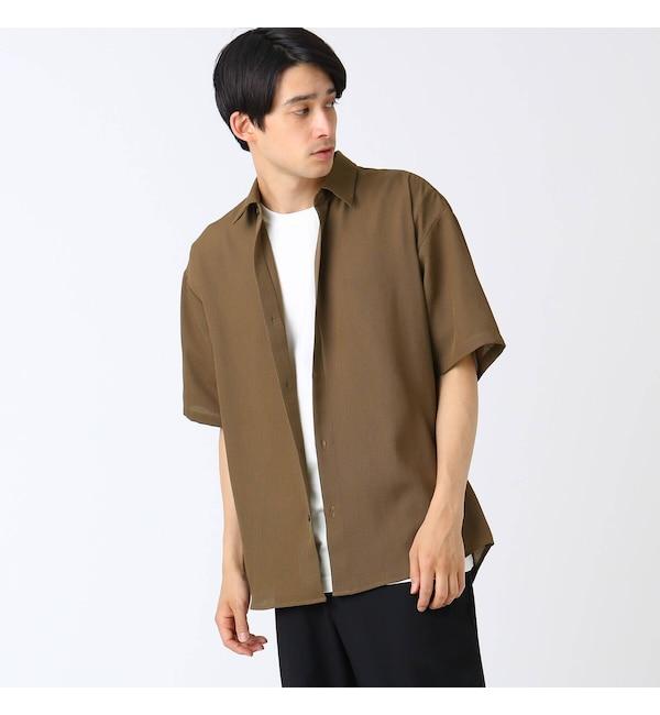 【ティーケー タケオキクチ/tk.TAKEO KIKUCHI】 ゆるシルエット半袖シャツ