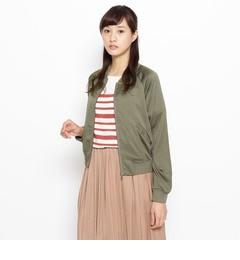 【インデックス/index】 サテンスカジャン [3000円(税込)以上で送料無料]