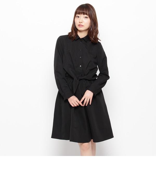 【インデックス/index】 前結びシャツワンピース [送料無料]