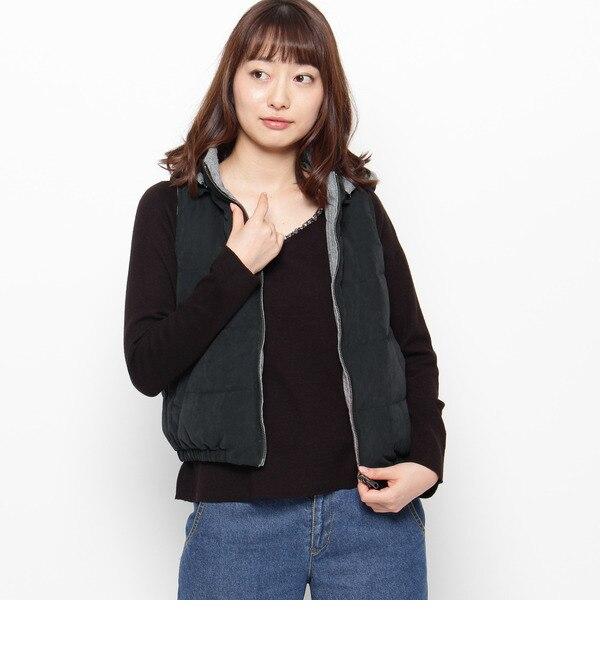 【インデックス/index】 リバーシブルダウンベスト [送料無料]