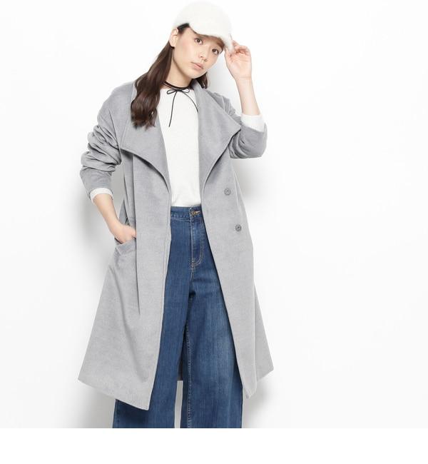 【インデックス/index】 ビッグカラーオーバーコート [送料無料]