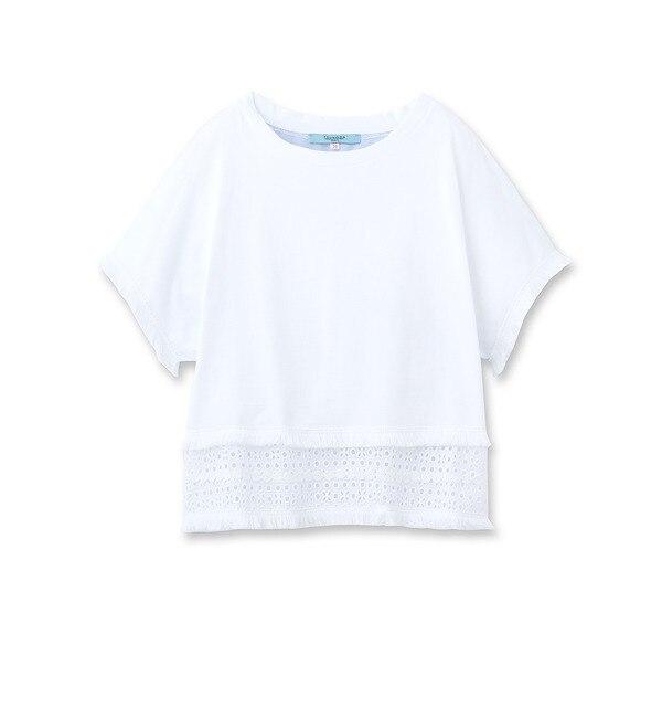 【アナトリエ/anatelier】 TSUNODA 異素材ミックスプルオーバー [送料無料]