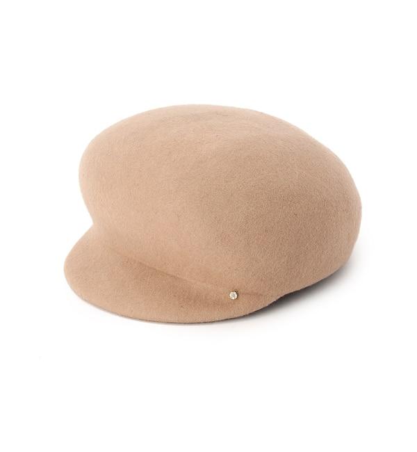 【アナトリエ/anatelier】 フェルトジョッキー帽子 [送料無料]