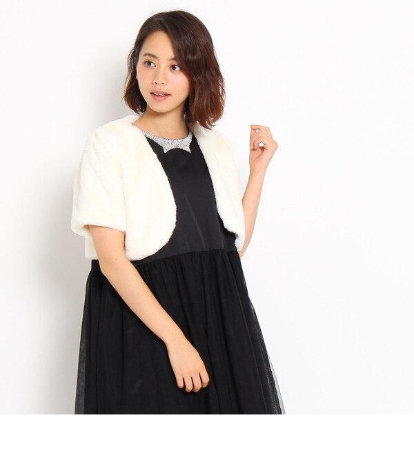 【アナトリエ/anatelier】 Dorry Doll フェイクファーボレロ [送料無料]