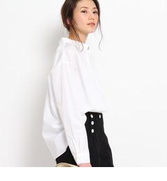 【アナトリエ/anatelier】 RUE DES CHATS タックスタンドカラーシャツ [送料無料]