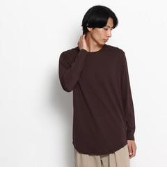 【ベース ステーション/BASE STATION】 BIGシルエットT‐シャツ長袖 [3000円(税込)以上で送料無料]