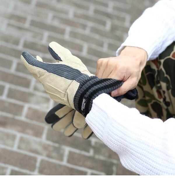 【ベース ステーション/BASE STATION】 スウェードシンサレイト手袋 [3000円(税込)以上で送料無料]