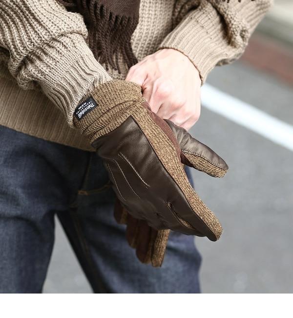 【ベース ステーション/BASE STATION】 レザーシンサレイト手袋 [送料無料]