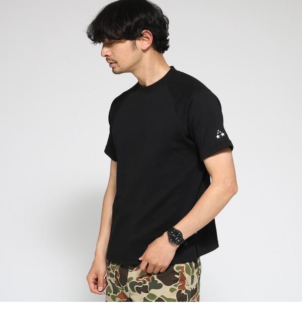 【ベース ステーション/BASE STATION】 Tシャツ メンズ 吸水速乾 TCポンチ 止水ジップポケット