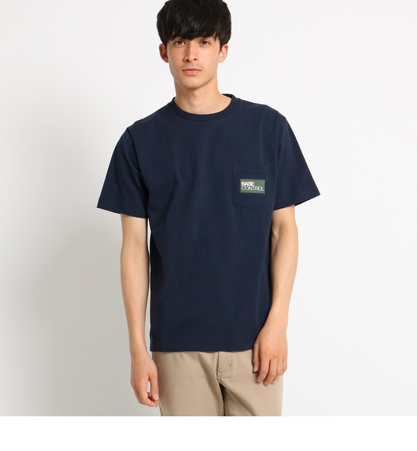 【ベース ステーション/BASE STATION】 Tシャツ メンズ 胸ポケット刺繍 クラシックロゴTシャツ [3000円(税込)以上で送料無料]