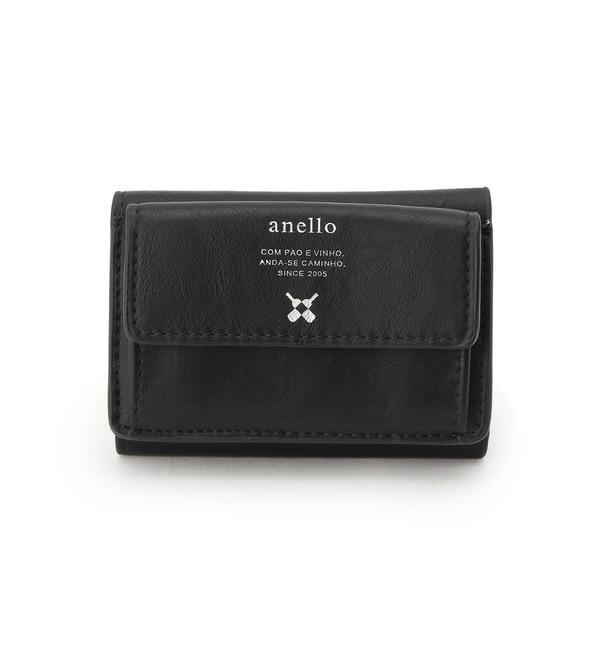 【ベース ステーション/BASE STATION】 アネロ anello 財布 三つ折りミニ財布 WEB限定 [送料無料]