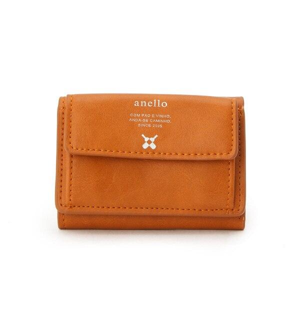 【ベース ステーション/BASE STATION】 アネロ anello 財布 三つ折りミニ財布 WEB限定