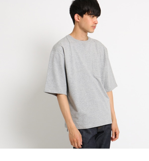 【ベース ステーション/BASE STATION】 Tシャツ ミニウラケ 半袖スウェット ビッグシルエット