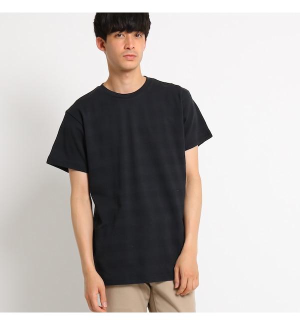 【ベース ステーション/BASE STATION】 Tシャツ クルーネックTシャツ ボーダー