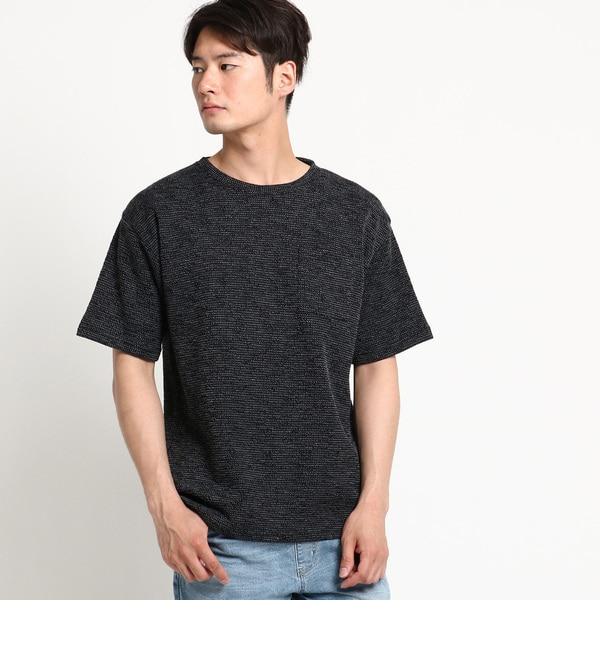 【ベース ステーション/BASE STATION】 Tシャツ メンズ 片畦Wフェイス ビッグシルエット [送料無料]