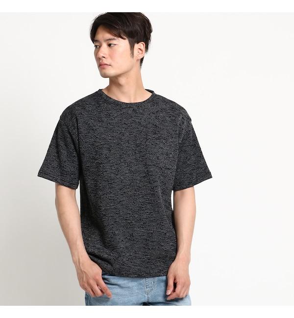 【ベース ステーション/BASE STATION】 Tシャツ メンズ 片畦Wフェイス ビッグシルエット