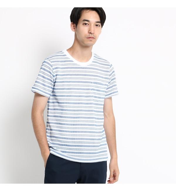 【ベース ステーション/BASE STATION】 CNバンカーニット Tシャツ メンズ