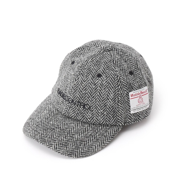 【ベース ステーション/BASE STATION】 Harris Tweed ハリス ツィード CAP ローキャップ