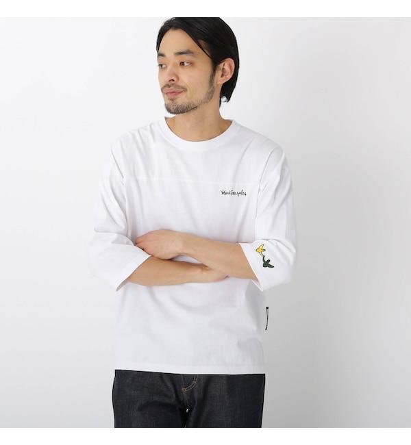 【ベース ステーション/BASE STATION】 MARK GONZALES マークゴンザレス 別注 七分袖 Tシャツ