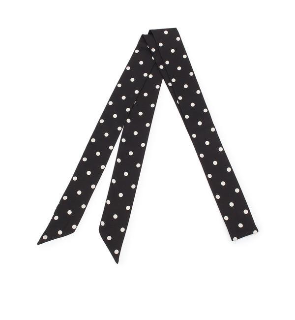 【AG バイアクアガール/AG by aquagirl】 モノトーンボウタイスカーフ [3000円(税込)以上で送料無料]