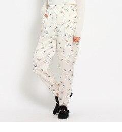 【AG バイアクアガール/AG by aquagirl】 アートキャットジョグパンツ [3000円(税込)以上で送料無料]
