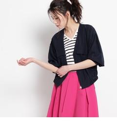 【AGバイアクアガール/AGbyaquagirl】フィブリルサテンジャケット[送料無料]