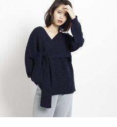 【AG バイアクアガール/AG by aquagirl】 結びカシュクールニット [3000円(税込)以上で送料無料]