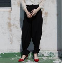 <アイルミネ> AG バイアクアガール厳選 2WAY裾ベルト付きワイドパンツ [3000円(税込)以上で送料無料]画像