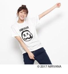 【ジ・エンポリアム/THE EMPORIUM】 NIRVANA(ニルヴァーナ) 白TEE [送料無料]