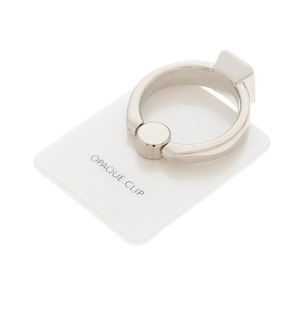 【オペークドットクリップ/OPAQUE.CLIP】 指輪デザインスマホリング [3000円(税込)以上で送料無料]