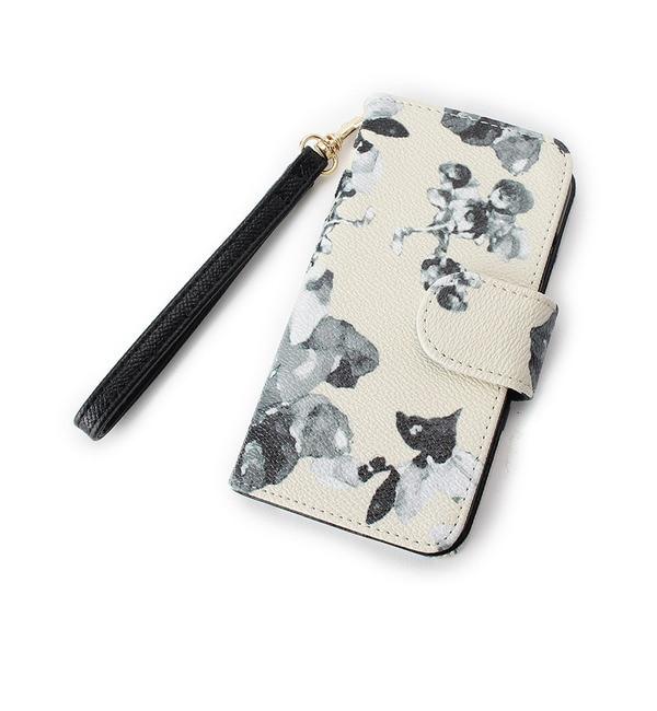 【オペークドットクリップ/OPAQUE.CLIP】 フラワープリントiPhone6ケース [送料無料]