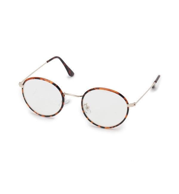 【オペークドットクリップ/OPAQUE.CLIP】 ボストンメタルメガネ