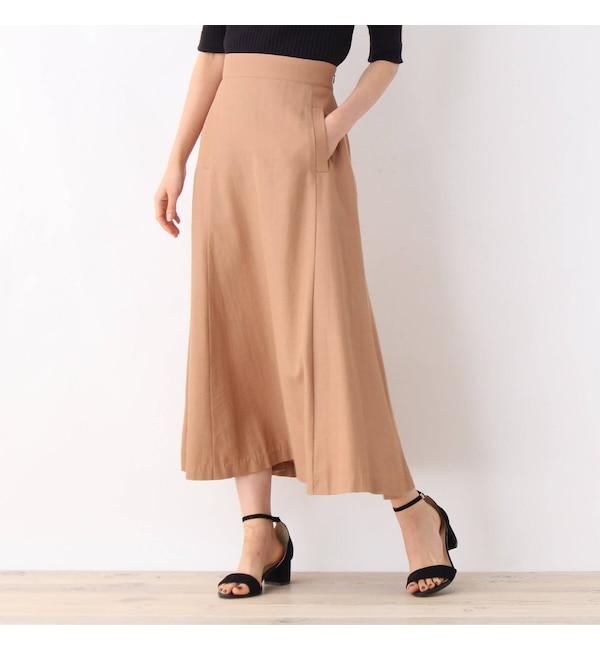 アイルミネで買える「【オペークドットクリップ/OPAQUE.CLIP】 リンクルエアーツイルスカート」の画像です。価格は2,195円になります。