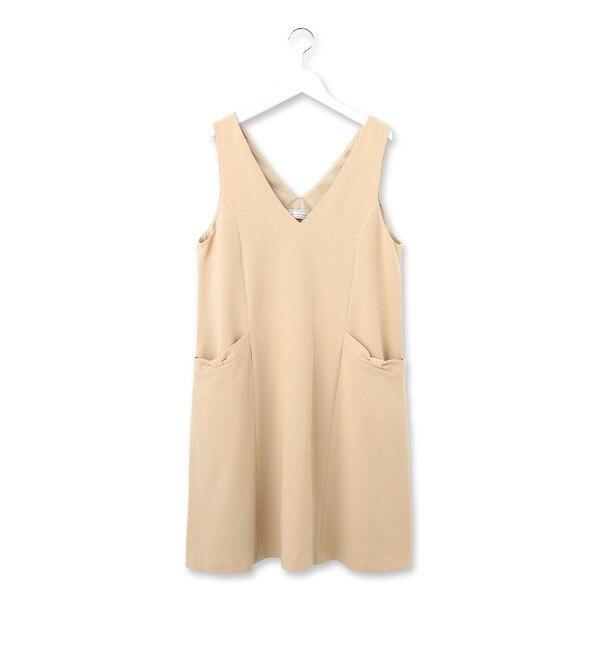 【クチュール ブローチ/Couture brooch】 ダブルクロスジャンパースカート [3000円(税込)以上で送料無料]