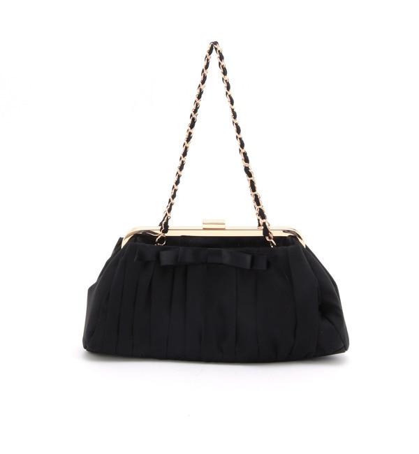 【クチュール ブローチ/Couture brooch】 シフォンリボンパーティーバッグ [送料無料]