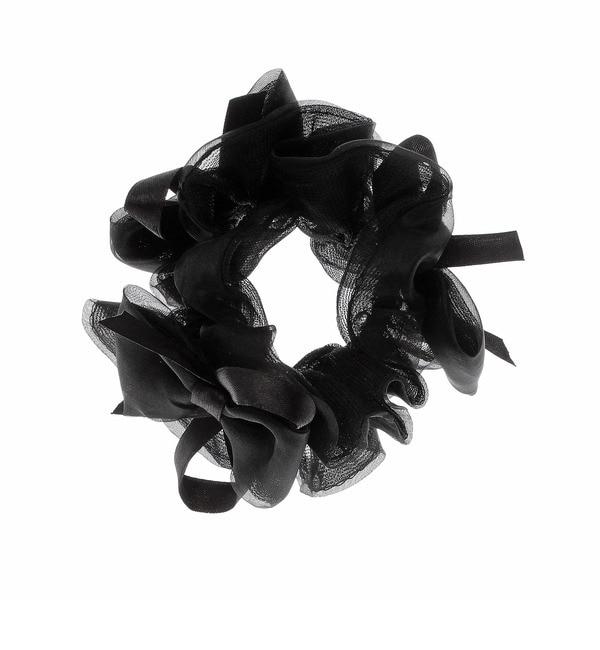 【クチュール ブローチ/Couture brooch】 オーガンジーリボンシュシュ [3000円(税込)以上で送料無料]