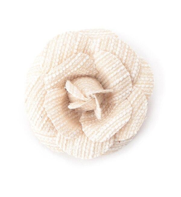【クチュール ブローチ/Couture brooch】 ツイード調コサージュ [3000円(税込)以上で送料無料]