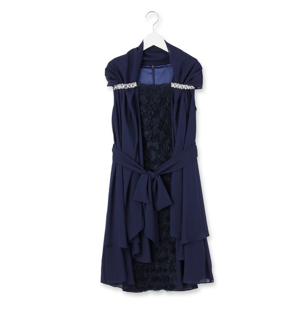 【クチュール ブローチ/Couture brooch】 Dorry Doll シフォンローズワンピース [送料無料]