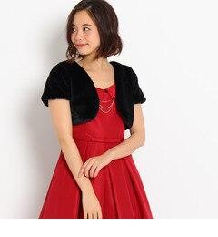 【クチュール ブローチ/Couture brooch】 Dorry Doll バックレースファーボレロ [送料無料]