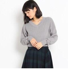 【クチュール ブローチ/Couture brooch】 吸湿発熱×静電気防止 Vニット [3000円(税込)以上で送料無料]