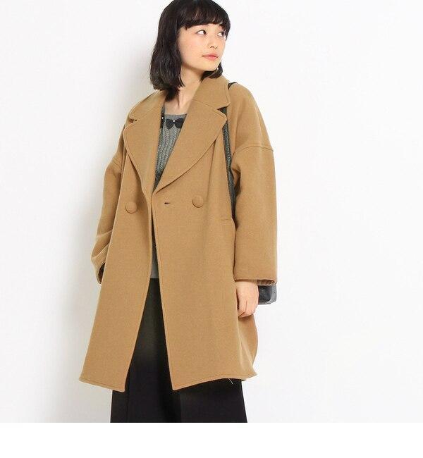 【クチュール ブローチ/Couture brooch】 ウールリバーメルトンコート [送料無料]