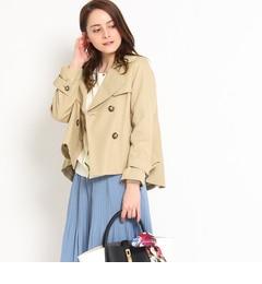 【クチュール ブローチ/Couture brooch】 ショートトレンチコート [送料無料]