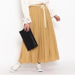 【クチュール ブローチ/Couture brooch】 モイストサテンスカート [3000円(税込)以上で送料無料]