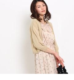 【クチュール ブローチ/Couture brooch】 【UV機能付き】ボレロ風カーディガン [3000円(税込)以上で送料無料]