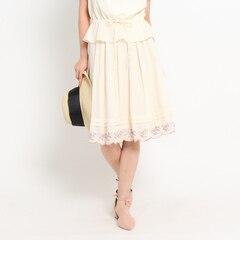 【クチュール ブローチ/Couture brooch】 フラワーエンブロスカート [送料無料]