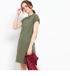 【クチュール ブローチ/Couture brooch】 Lee コクーンTシャツワンピース [送料無料]