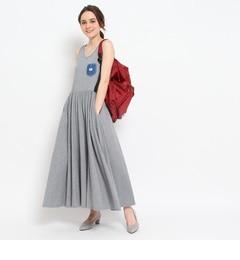 【クチュール ブローチ/Couture brooch】 Lee コットンマキシ丈ワンピース [送料無料]